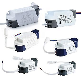 הוביל נהג 3w24w יחידת אספקת חשמל LED Ac85-265v קבוע קבוע 240ma שנאים עבור אורות LED Diy פאנל מנורה הנהג DC