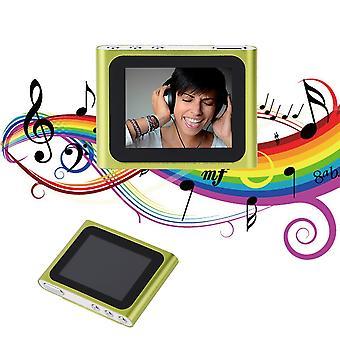 Hordozható 1,8 hüvelykes LCD kijelző 6. generációs music media mp4 lejátszó