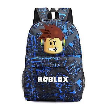 Roblox Rucksack Kinder Schultasche Studenten Jungen Büchertasche Reisetasche Geschenk