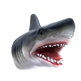 צעצועי בובות יד לטקס צעצועים לילדים כריש בעלי חיים (כריש)