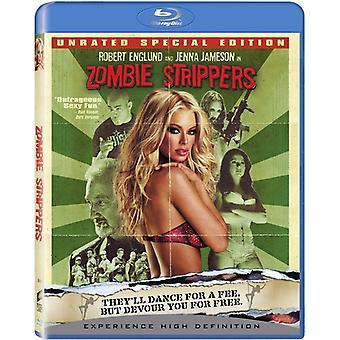 Zombie strippere [BLU-RAY] USA importerer