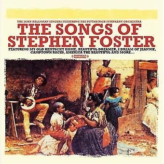 John laulajat Halloran - Stephen Foster-kappaleita [CD] USA tuonti
