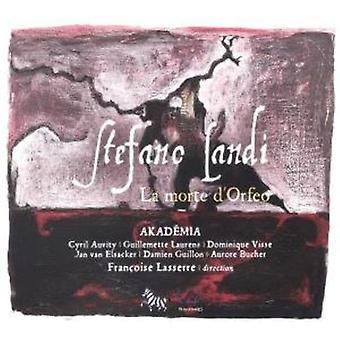 S. Landi - Landi: La Morte D'Orfeo [CD] USA import