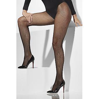 Ciorapi XL negru plasa ciorapi stretchig supradimensionat gr 42-46