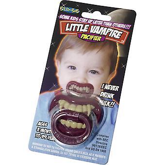 Chupeta de dentes do vampiro chupeta Drácula Halloween