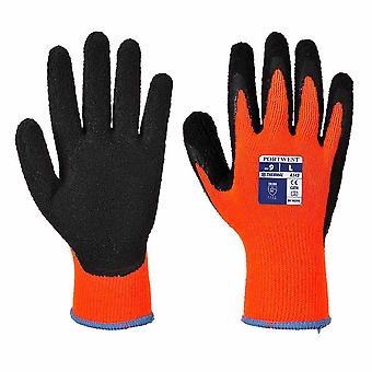 sUw - 1 Pair Pack Thermal Soft Grip Protective Workwear Glove