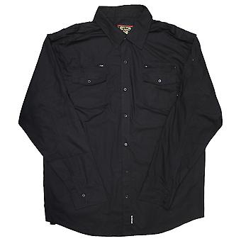 Live Mechanics Well Established Shirt Black