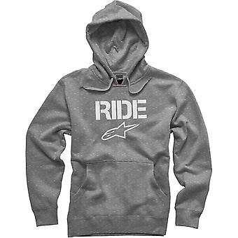 Alpinestars Ride Pullover Hoody in Heather Grey