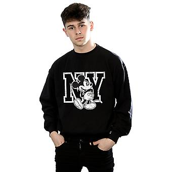 NY Mickey Mouse Disney masculine Kicking Sweatshirt