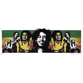 Bob Marley - Rastaman - Slim plakat Poster Print