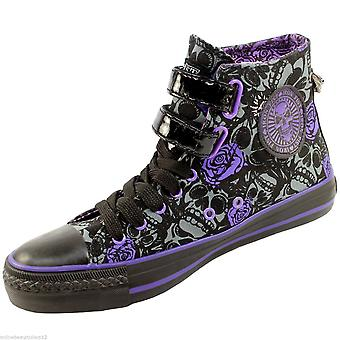Womens Iron Fist Muerte Punk Hi Top Trainers/Ankle Boot