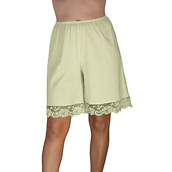 Underworks Pettipants cotone maglia Culotte Slip Bloomers Split gonna 9 pollici Inseam