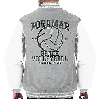 Miramar Top Gun Beach volleyboll Championship mäns Varsity jacka