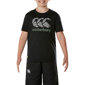 Canterbury Clothing Boys CCC Round Neck S-Sleeved Logo Graphic T Shirt