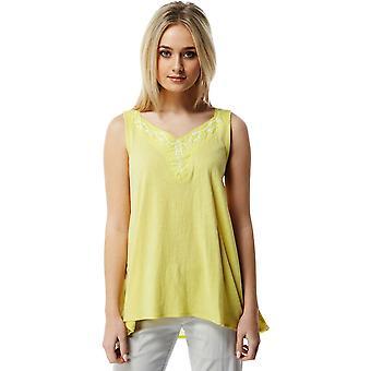 Craghoppers Womens/Ladies Scarlett Cotton V-Neck Vest T-Shirt Top