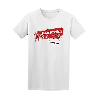 New York City Nyc Skateboarding Tee Men's -Image by Shutterstock