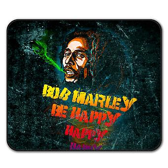 Marley Be Happy Pot  Non-Slip Mouse Mat Pad 24cm x 20cm | Wellcoda