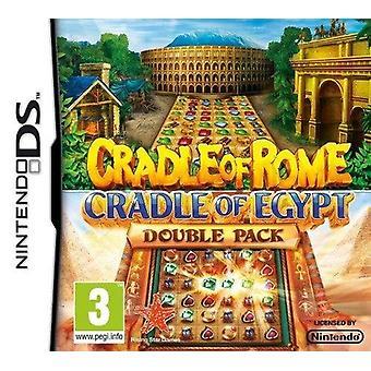 Wiege von RomCradle of Egypt Double Pack (Nintendo DS) - Fabrik versiegelt