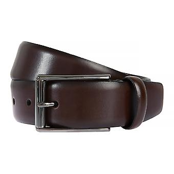 Strellson belts men's belts leather leather belt Brown 2044
