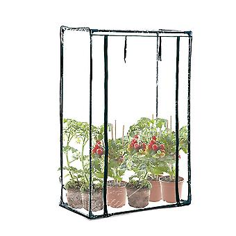 Outsunny Outdoor PVC and Steel Greenhouse Plant Cover with Zipper 100 x 50 x 150CM