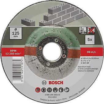 Bosch-lisä varusteet C 30 S BF 2609256335 leikkuu levy (off-Set) 125 mm 22,23 mm 5 kpl/S