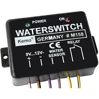 Kemo M158 vattenläcka detektor komponent 9 V DC, 12 V DC