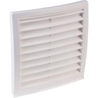 Wallair N32820 Vent grille Plastic Suitable for pipe diameter: 100 mm