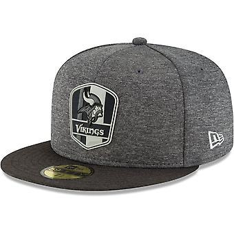 New Era 59Fifty Cap - Black Sideline Minnesota Vikings