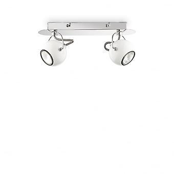 Ideal Lux Lunare Twin Wand Licht weiß