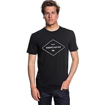 Quiksilver fluid flow kortærmet T-shirt i sort