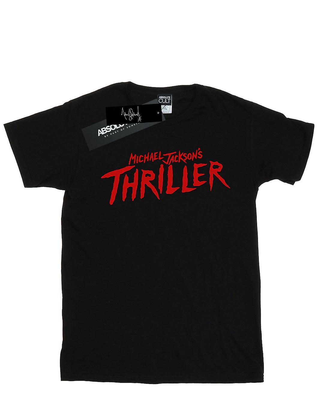 Michael Jackson Men's Thriller Logo T-Shirt