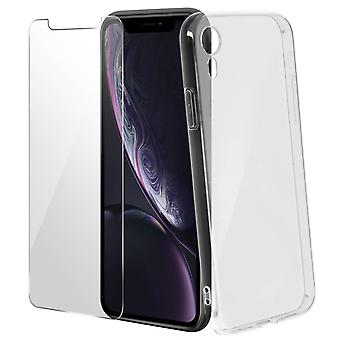 Back case + Screen Protector Tempered Glass Clear Apple iPhone XR – 4smarts