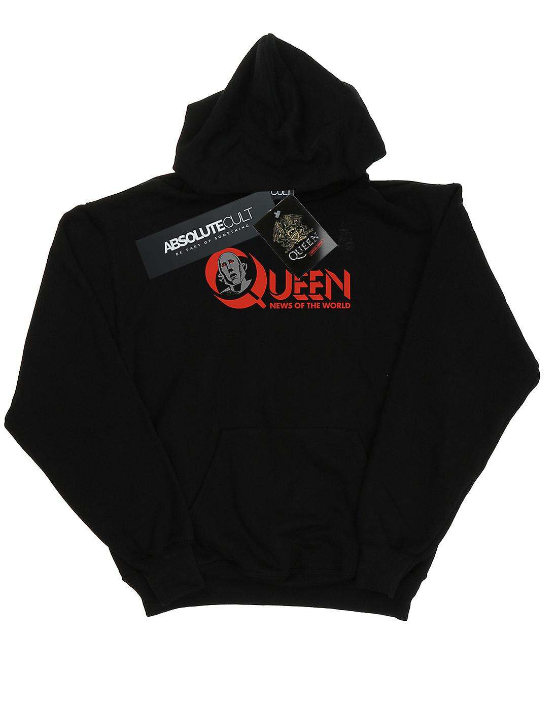 Queen Women's News Of The World Logo Hoodie