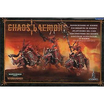 Games Workshop Warhammer 40.000 Chaos Daemons Bloodcrushers av Khorne