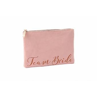 Champagne Moments Team Bride Beauty Bag
