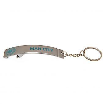 Manchester City FC Bottle Opener nøglering