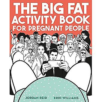 Il libro di grasso grande attività per persone incinta
