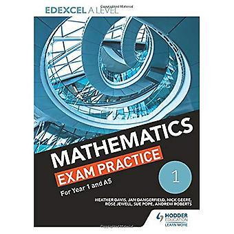 Edexcel année 1/AS mathématiques examen pratique