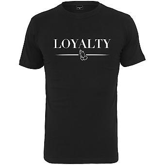 Mister t-stukoverhemd - loyaliteit zwart