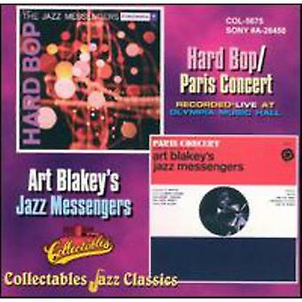 Art Blakey & Jazz Messengers - Hard Bop/Paris Concert [CD] USA import
