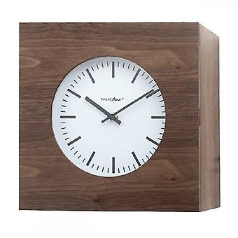 Key cabinet with clock Qubo