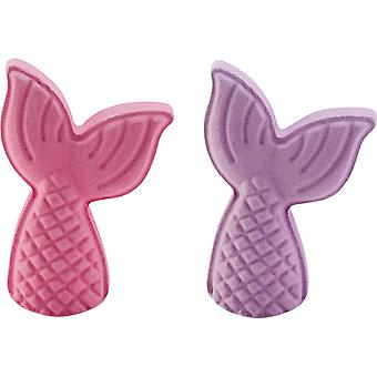 Tilly & Friends Mermaid Tail Bath Fizzer 150g (Pink=Sea the Day or Purple=Makes Some Waves)