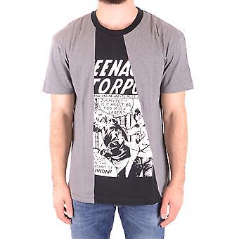 Mcq Door Alexander Mcqueen Ezbc053069 Men's Grey Cotton T-shirt