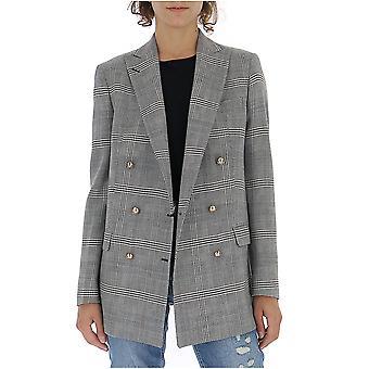 Tagliatore Jjasminef4010n1213 Women's Grey Cotton Blazer