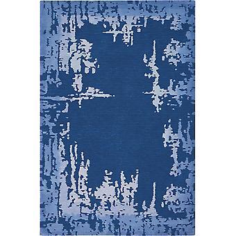 Symétrie SMM02 Rectangle bleu marine tapis tapis Funky