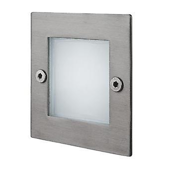 Firstlight-LED 9 luz de pared y paso de acero inoxidable IP44-8102ST