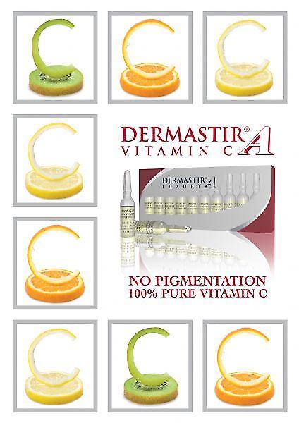Dermastir Luxury - Vitamin C skincare ampoules