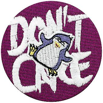 Psycho Penguin Don`t Care Patch