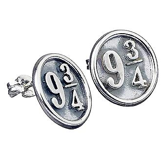 Harry Potter Sterling Silver Platform 9 3/4 Stud Ohrringe