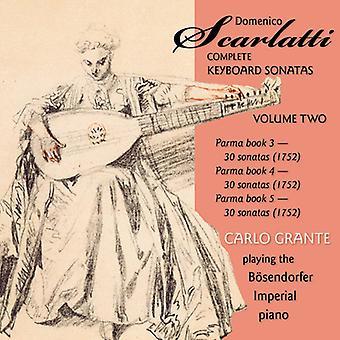 D. Scarlatti - Domenico Scarlatti: Complete Keyboard Sonatas, Vol. 2 [CD] USA import